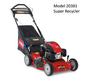 Toro Model 20381